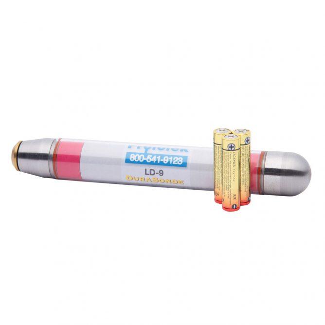 LD-9 | 16 Hertz Durasonde Transmitter - shown with batteries